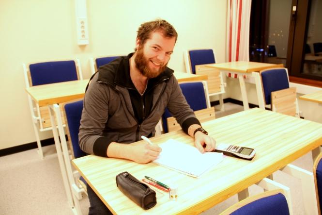 Hans Martin Pedersen. Foto: Vårin Sund.