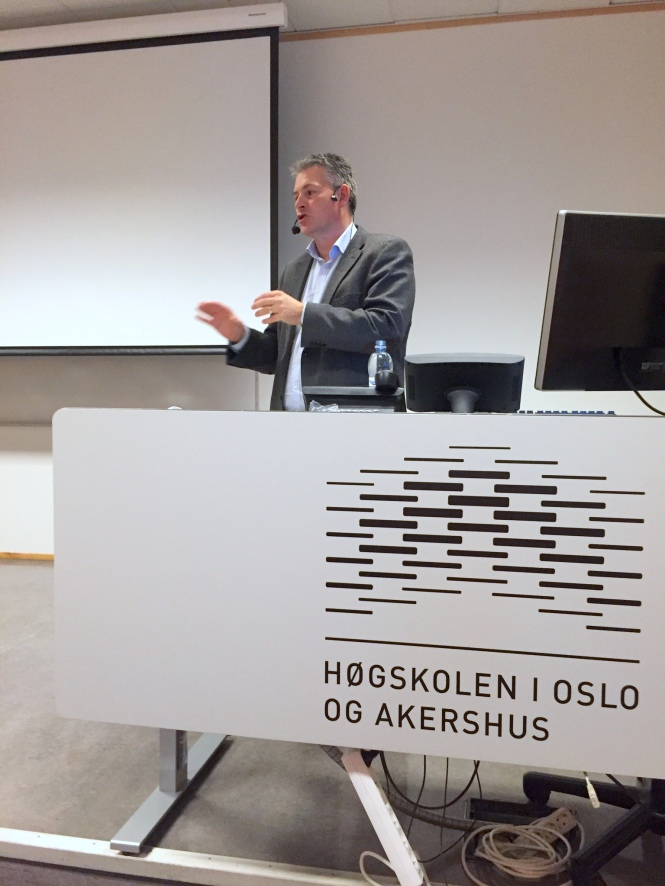 Statssekretær Bjørn Haugstad. Foto: Bjørn Dinesen.