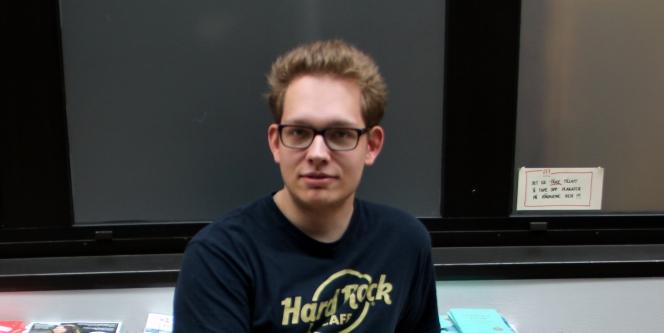 Ole Marius Svendsen er ukens student. Foto: Vårin Sund